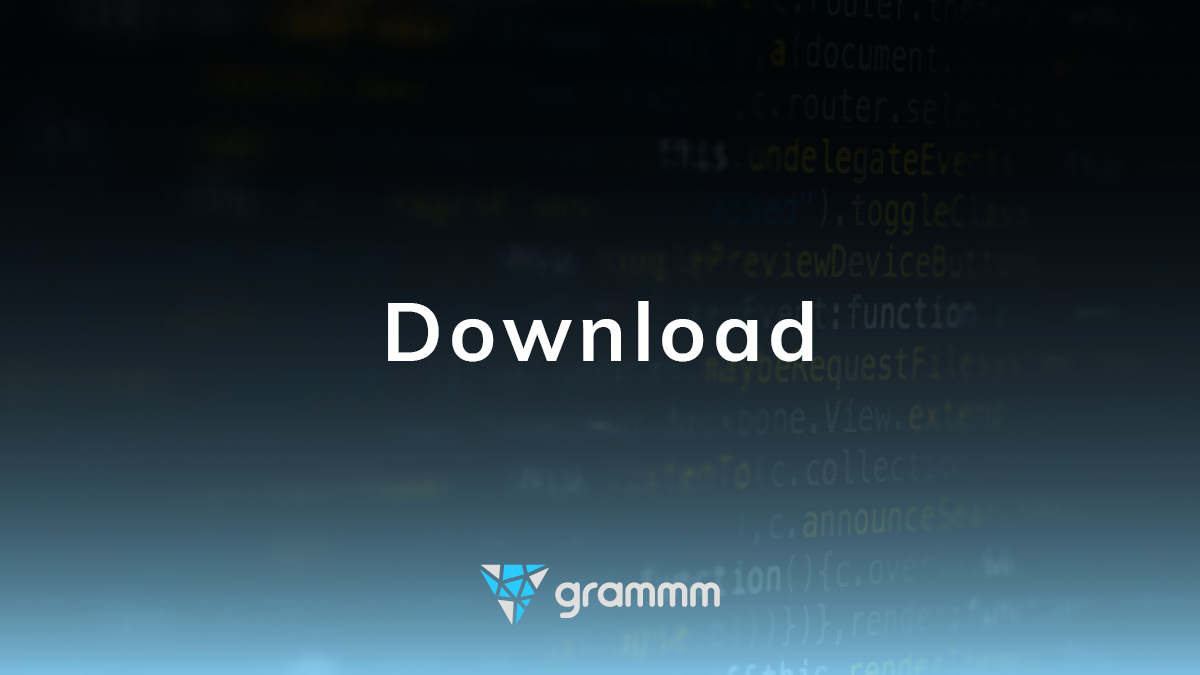 Update of the grammm appliance published