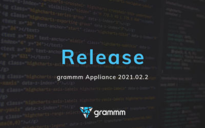 Release of the grammm appliance 2021.02.2