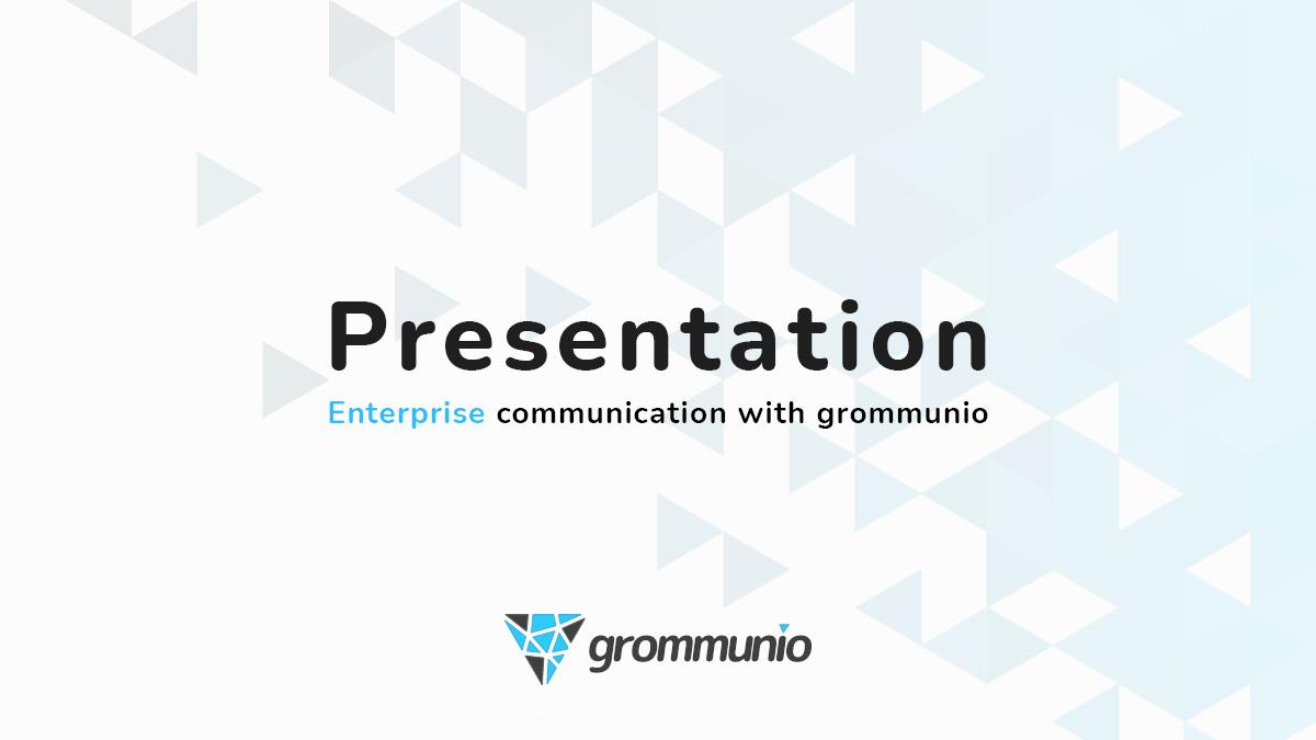 grommunio presentation ()Oct-2021)